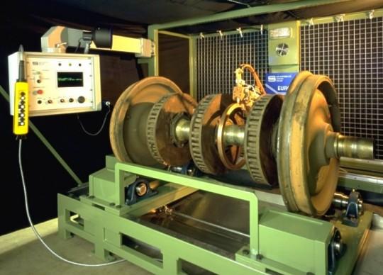 Insight Ndt Equipment Inspection Of Assembled Railway
